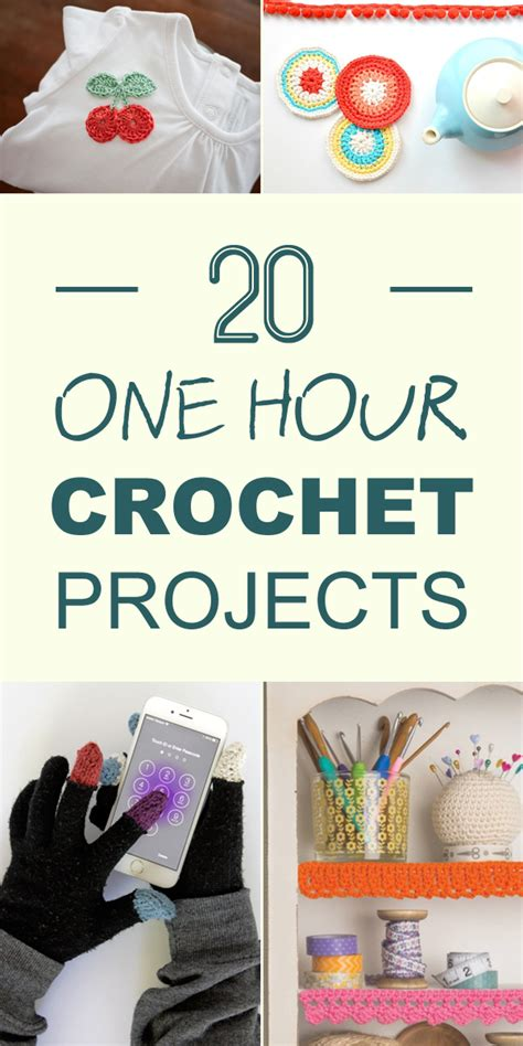 20 one hour crochet projects you ll want to try immediately