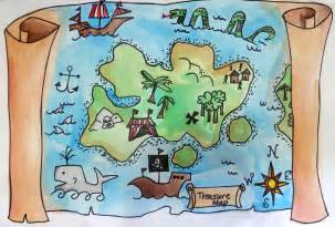 Treasure Map Template Ks1 by And Artist Treasure Maps