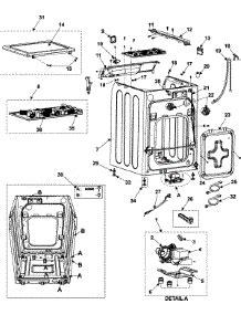 parts for samsung wf316las xaa washer appliancepartspros