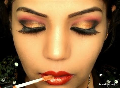 makeup tutorial indian wedding superprincessjo indian bridal wedding makeup red and