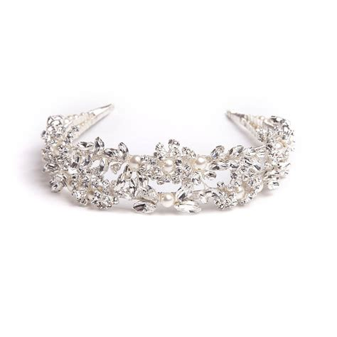 Handmade Tiara - handmade wedding tiara by rosie willett designs