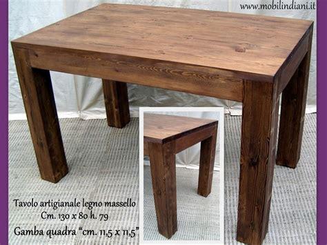 foto di tavoli foto tavolo da cucina legno massello di mobili etnici
