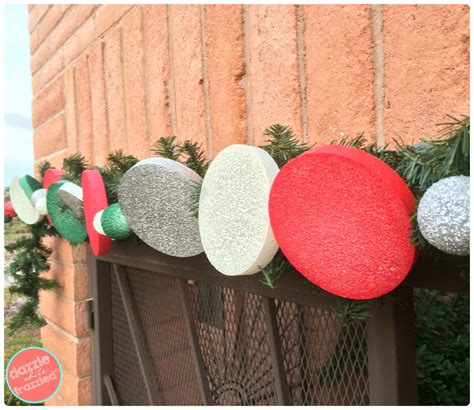 outdoor holiday garland favecrafts com