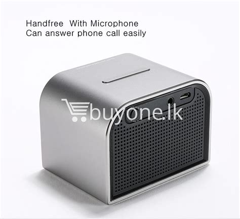 best deal remax m8 mini desktop bluetooth 4 0 speaker bass aluminum buyone lk