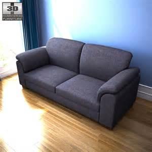 ikea tidafors sofa ikea tidafors three seat sofa 3d model humster3d
