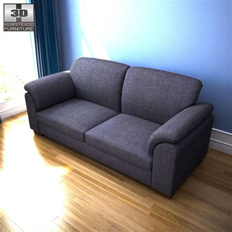 tidafors ikea sofa ikea tidafors three seat sofa 3d model humster3d