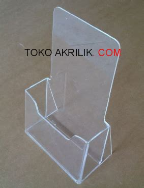Jual Acrylic Wall Display tempat brosur tb 35 acrylic akrilik acrylic display