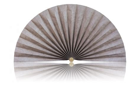 decorative pleated window fans beige marble accent pleated decorative fans
