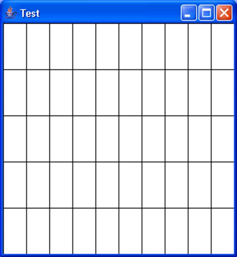 pattern grid program line 171 2d graphics gui 171 java