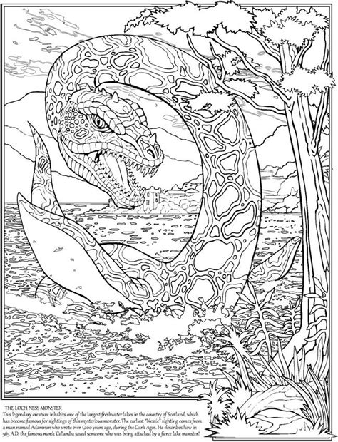 loch ness monster coloring pages 23 best images about loch ness monster on pinterest