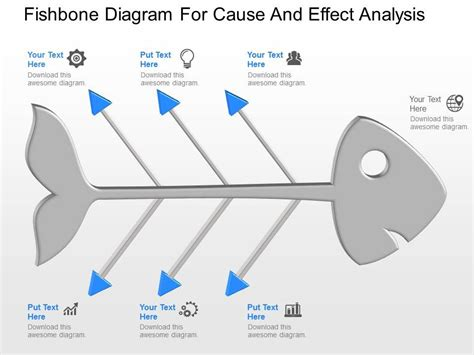ppt fishbone diagram for cause and effect analysis