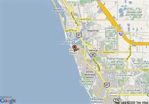 where is venice florida on the map map of inn at the venice
