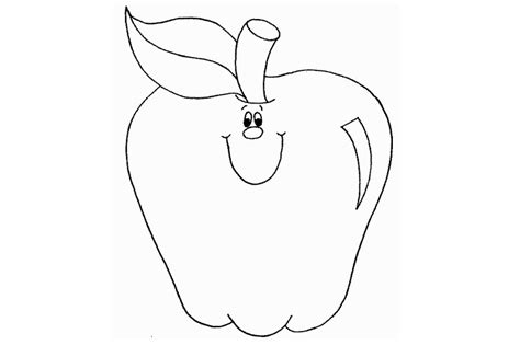 smiling apple coloring page forrest hall farm home of the crazy corn maze