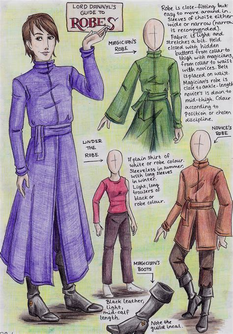 Dress Sonea An lord dannyl s guide to robes by perhone on deviantart