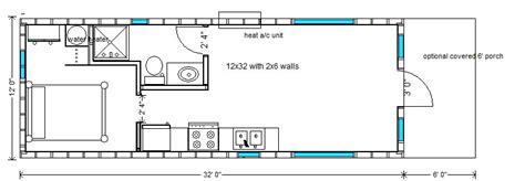 Tiny Home 16 X 32 Joy Studio Design Gallery Best Design Floor Plans For A 12 X 32 House