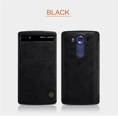 Lg V10 New Leather Sparkle Leather Nillkin Uniq nillkin qin series leather for lg v10 h968