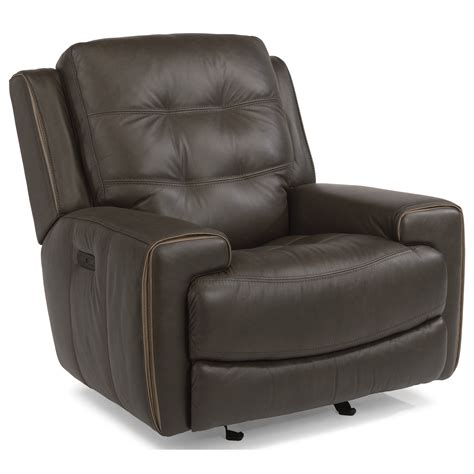 recliner headrest flexsteel latitudes wicklow power glider recliner with