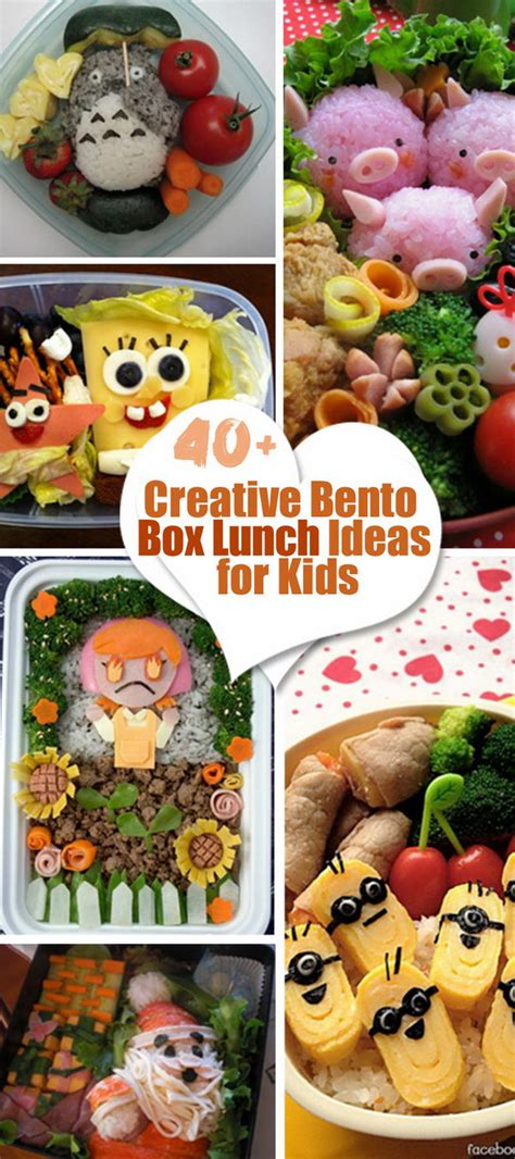 Bento Box Decorations by 40 Creative Bento Box Lunch Ideas For Hative