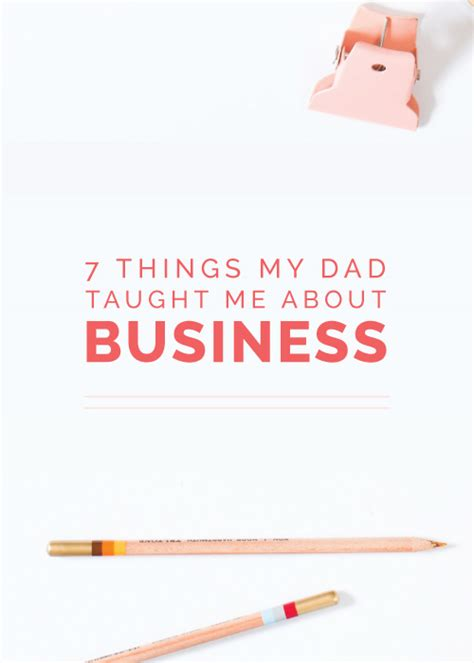 7 Things About Me by 7 Things My Taught Me About Business