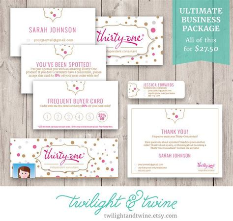 vistaprint business card template pdf 54 best images about thirty one scentsy business cards