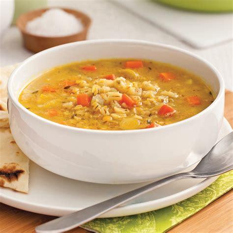 cuisine am駻indienne soupe d orge et lentilles 224 l indienne recettes
