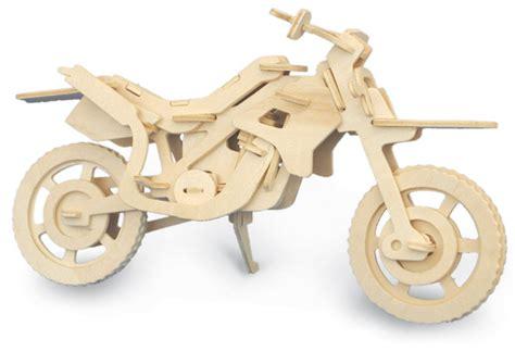 Motorrad Modell Basteln by Motocross Motorrad 3d Modell Zusammenbauen Bausatz Holz