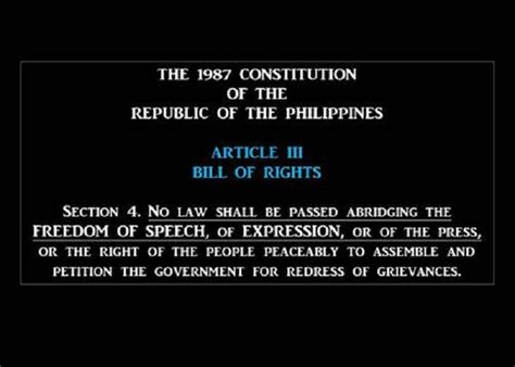 bill of rights section 4 no more phone use in philippine banks if this bill becomes
