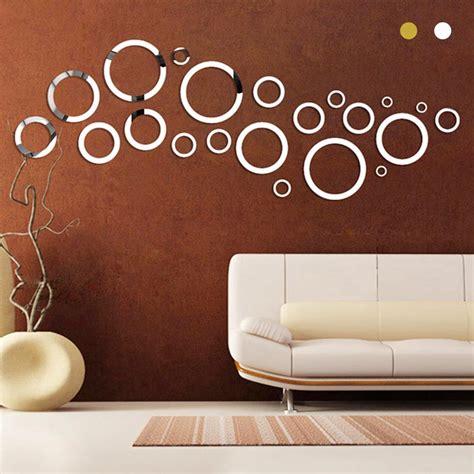 Cermin Akrilik stiker dinding untuk ruang tv stiker dinding murah