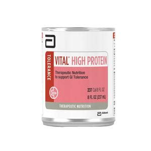 L Hi Protein Daily Formula Formula Vital High Protein 8oz Cans Unflavored 24 Cs