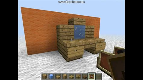 How Do You Make A Desk In Minecraft by Minecraft Dressing Table