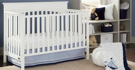 Meijer Baby Cribs by Graco 4 In 1 Convertible Crib Just 89 99 Shipped