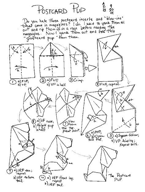 Origami Animals Diagrams - origami animal diagrams search origami
