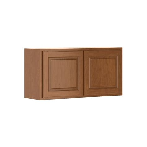 hton bay cognac cabinets hton bay madison assembled 36x18x12 in wall bridge