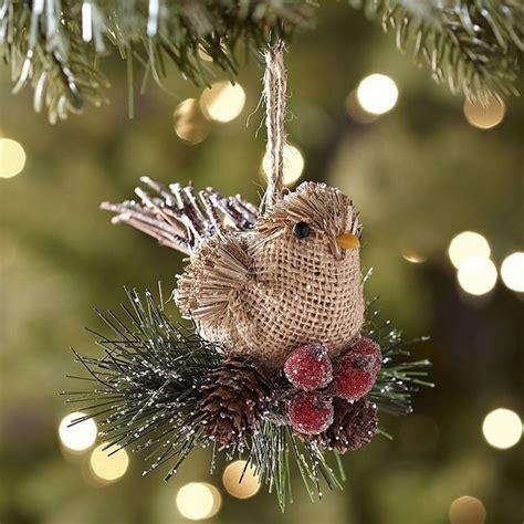 tree ornament ideas burlap tree burlap ornaments garlands tree