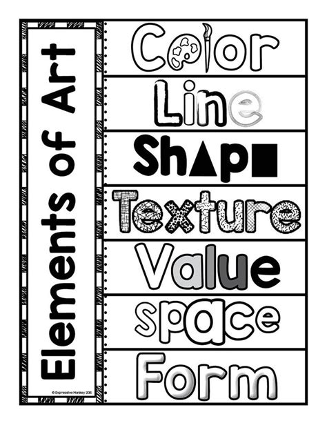 design elements kid definition elements of art interactive page editor sketchbooks and