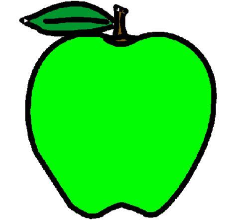 imagenes de uñas en verdes dibujo de manzana pintado por verde en dibujos net el d 237 a