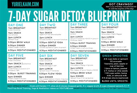 The 7 Day Detox Plan by Fit For The Kingdom Sugar Detox Tell All Experience
