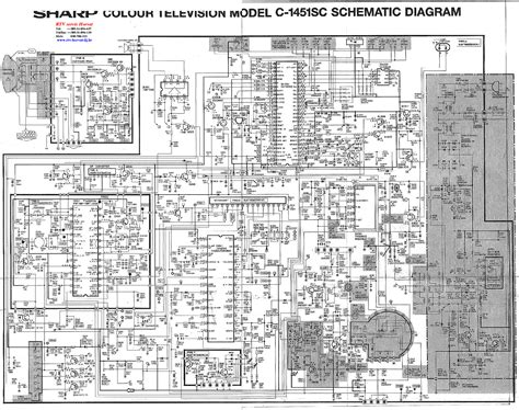 Sharp Television Free Schematic sharp television circuit diagram circuit and schematics diagram
