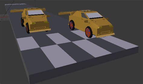 membuat video animasi dengan blender membuat animasi sederhana mobil balap dengan blender