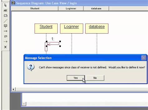 cara membuat sequence diagram pada rational rose tutorial membuat sequence diagram menggunakan rational