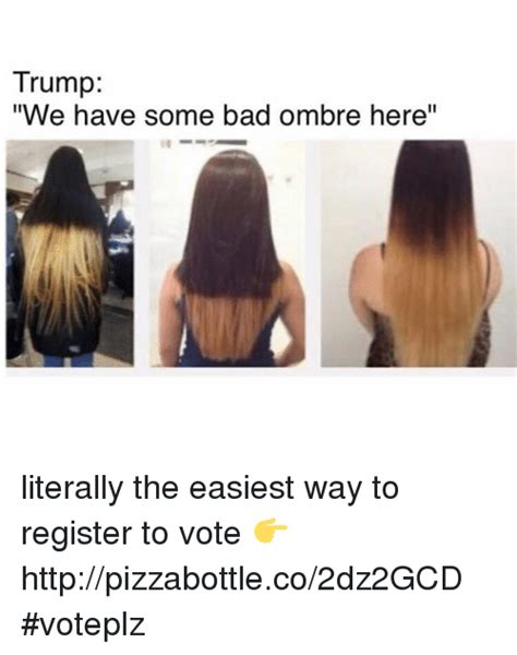 the way we all register to vote has changed rushden town voice 25 best memes about trump trump memes