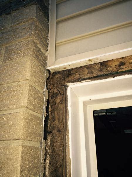 Brickmold Door by Garage Door Brick Mold J Channel Against Brick