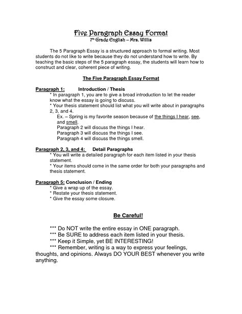 Standard Academic Essay Format by Standard Format For Essay Writing Mfacourses719 Web Fc2