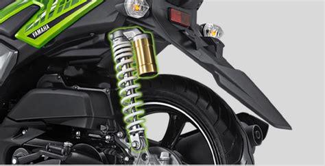 Shock Breaker Belakang R New harga dan spesifikasi all new yamaha x ride 125 facelift