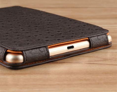 smart case custom made genuine leather 4 fold smart case