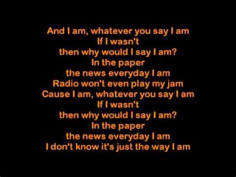 eminem the way i am lyrics eminem the way i am 167 167 lyrics 167 167 youtube