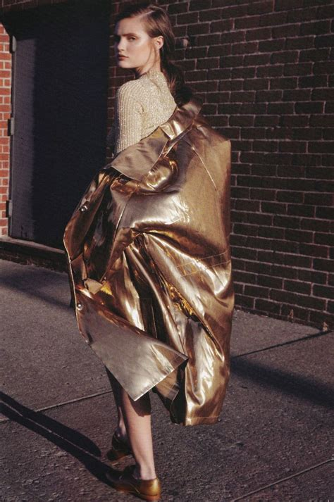 wear metallic pieces  coming spring glam radar