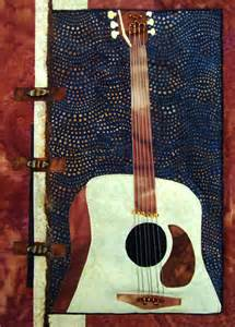for quilts sake quot all that jazz guitar quot quilt wall