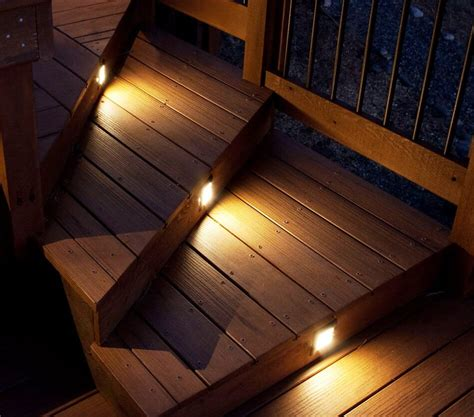 Patio Step Lights Outside Stair Lights Cool Modern Outdoor Stairs With Steps Lighting And Clear Glass Baluster