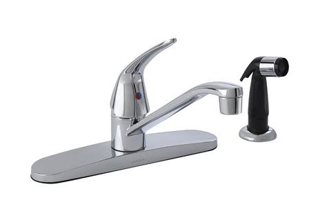maxwell 174 single handle kitchen faucet with spray gerber